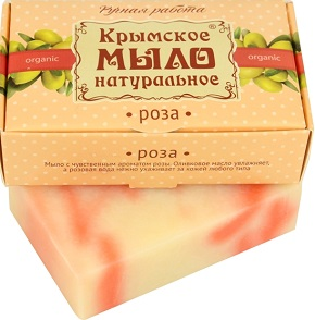 Крымское мыло Роза
