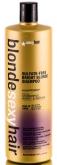 Sulfate-free bright blonde shampoo