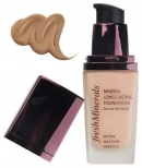 freshMinerals Mineral Long Lasting Foundation Tanned