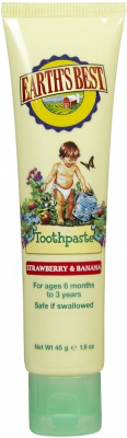 Todder Toothpaste Strawberry and Banana