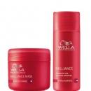 Wella Professional Shampoo and mask