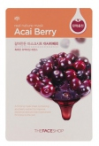 The Face Shop Real Nature Acai Berry Face Mask