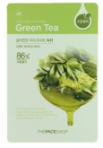 The Face Shop Real Nature Green Tea Face Mask