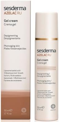 SesDerma Azelac RU Depigmenting Gel Cream Крем-гель депигментирующий для лица с азел. кисл., 50 мл для лица - купить в интернет-магазине