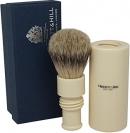 Turnback Travel Shave Brush Ivory