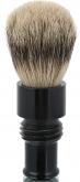 Turnback Travel Shave Brush Ebony