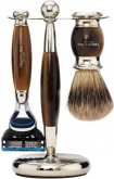 Badger Brush Fusion Razor Horn