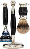 Badger Brush Fusion Razor Ebony