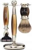 Badger Brush MachIII Razor Horn