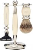 Badger Brush MachIII Razor Ivory