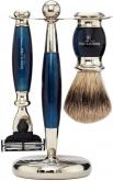 Badger Brush MachIII Razor Blue