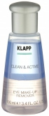 Klapp Clean&Active Eye Make-Up Remover