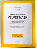 More Than White Velvet Mask