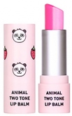 SKIN79 Animal Two-Tone Lip Balm Strawberry Panda