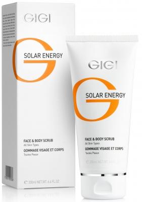 Solar Energy Fase & Body Scrub